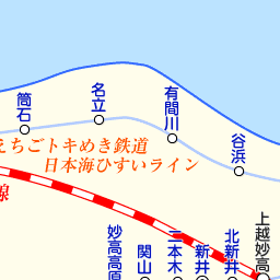 長野県 駅・路線図から地図を検...