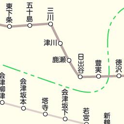 jr羽越本線 駅 路線図から地図を検索 マピオン