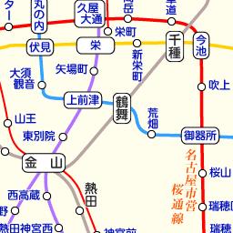 桜通 線 図 地下鉄 路線